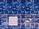 Art Gallery Fabric - Here COmes The Fun - Across Sparks Blue - CLEARANCE