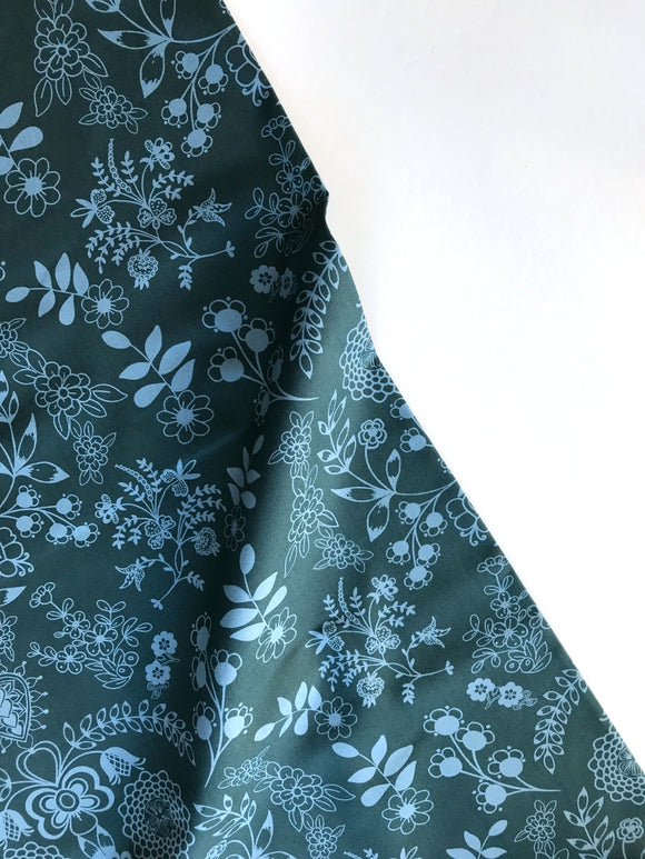 Art Gallery Fabric - Essentials II - Floralism Azur - CLEARANCE
