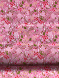 Riley Blake - Wild Bouquet - Bouquet Wildflowers Pink - CLEARANCE