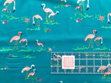 Art Gallery - West Palm - Katie Skoog - Flamingo Field Marina - Quilters Cotton