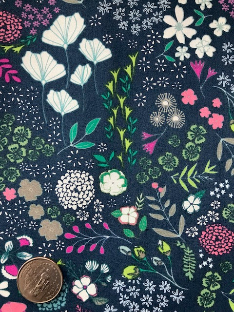 Art Gallery - Flower Child - Maureen Cracknell - Blooming Luscious - Quilters Cotton