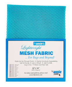 By Annie's Lightweight Pocket Mesh - Parrot Blue