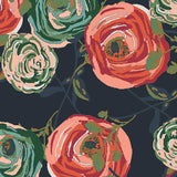 Art Gallery - Woodlands Fusion - Rayon Challis Paradis Fabric