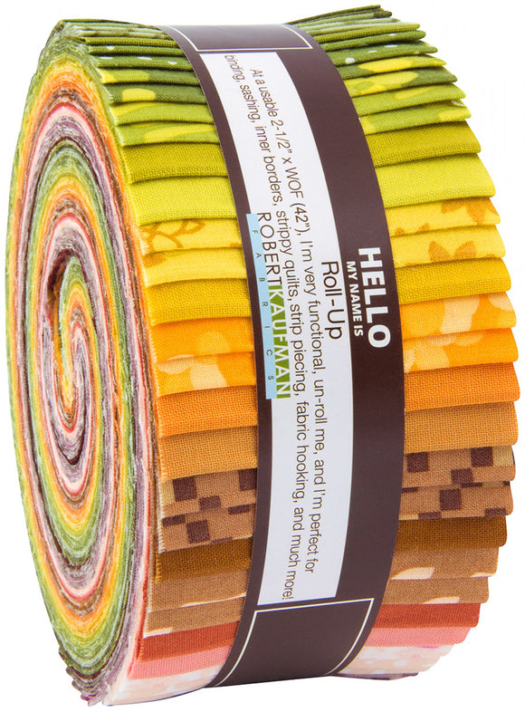Robert Kaufman Fabrics - Terrarium WARM Jelly Roll