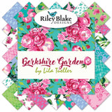 Riley Blake Fabrics - Berkshire Garden - Fat Quarter Fabric Bundle 18pcs