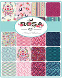 Moda Fabrics -  Crystal Manning - Rosa - Fat Quarter Fabric Bundle 28pcs
