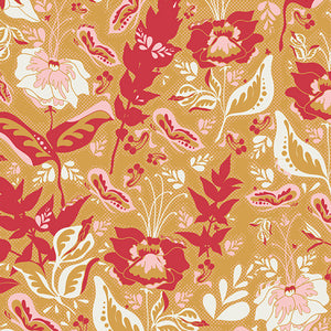 Art Gallery Fabric - Bonnie Christine - Reminisce - Wonderment Honey