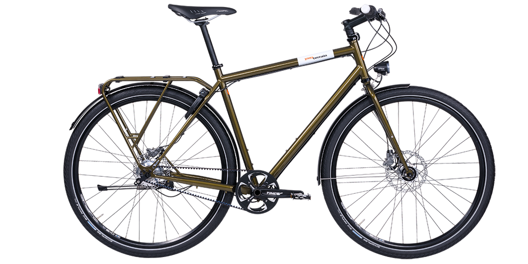 Tout Terrain Amber Road City Touring Bicycle