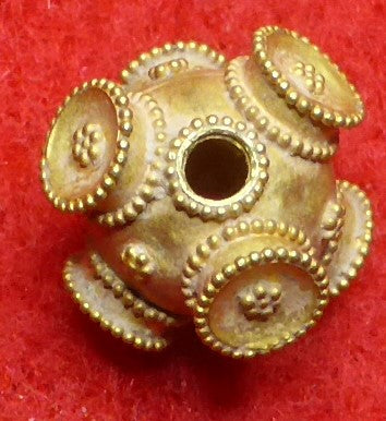 Viking/Byzantine Gold Bead