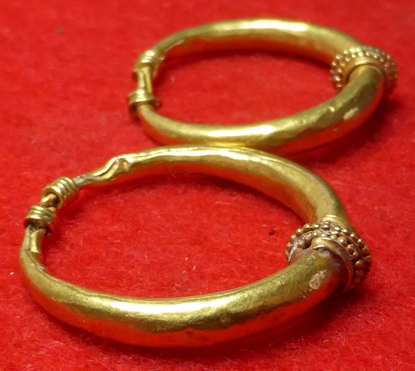 Hellenistic Greek Gold Earrings