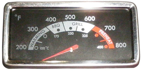Music City Metals Grill Heat Indicator 00021
