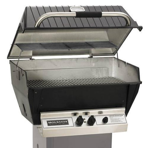 Broilmaster Deluxe H4X Series Gas Grill - Natural Gas - Yardandpool.com