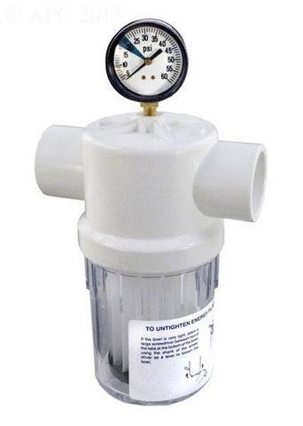 Jandy Energy Filter w/ Gauge - Yardandpool.com