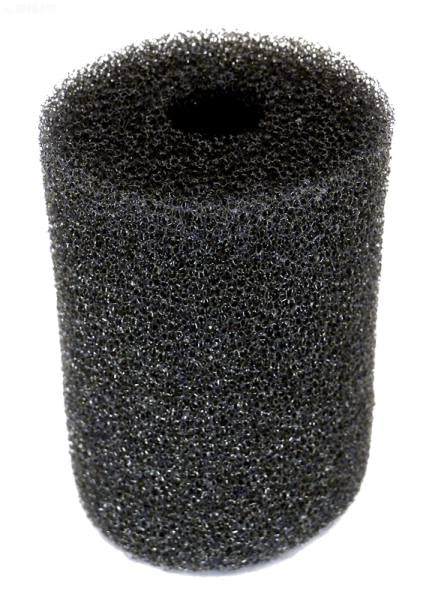 Sweep hose scrubber