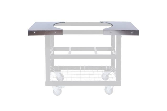 Primo Grills Stainless Steel Shelves For Cart Oval Large 300 And Oval Xl 400 By Primo Grills Smokers