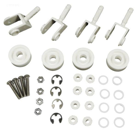#250 Replacement kit, 4 each, #174 wheels, #263 casters, #264 axle assembly, #267 clips