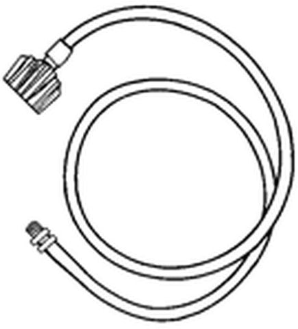"Music City Metals 4"" Adapter Hose 80004"
