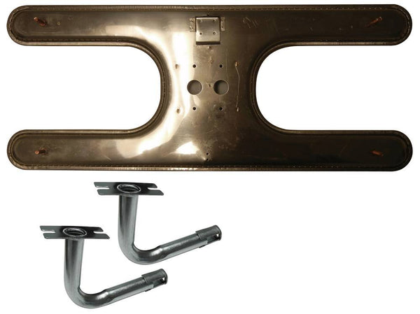 Music City Metals Stainless Steel Grill Burner 10602-72802