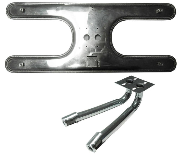 Music City Metals Stainless Steel Grill Burner 10612-71302