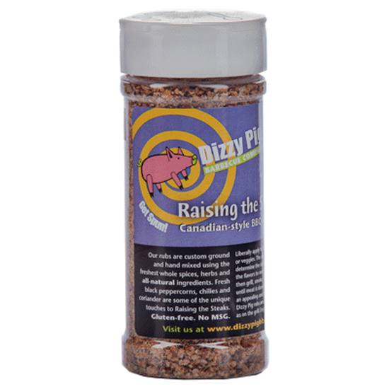 Dizzy Pig Raising The Steaks BBQ Rub - 8 oz