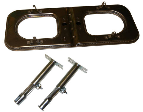 Music City Metals Stainless Steel Grill Burner 14212-70301