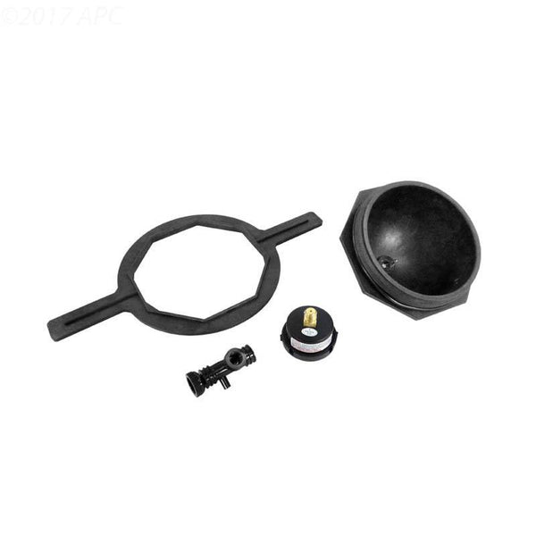 "Kit closure, 6"" btr. thd., black, - Detail A"