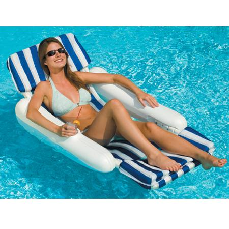 Sunchaser Padded Luxury Pool Lounge Chair