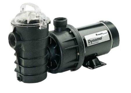 Pentair Dynamo Single Speed Pool Pump with 3' Standard Cord - 1 HP