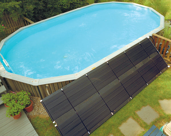 SunHeater Solar Pool Heating System - Above Ground 40 sq ft
