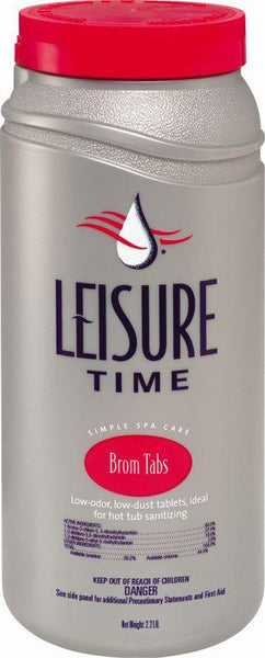 Leisure Time Spa Chemicals - Bromine Tablets 2.2 lb
