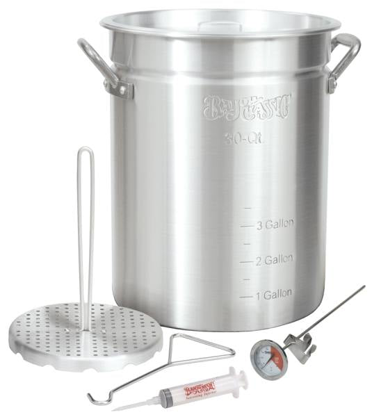 Bayou Classic 30 Quart Turkey Fryer Kit Aluminum