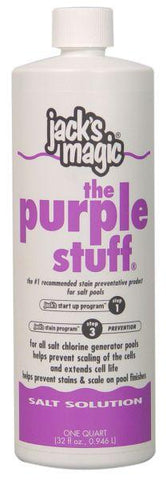 Jack's Magic Salt Solution The Purple Stuff - 1 qt - Yardandpool.com