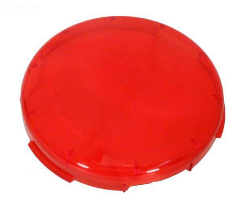 Kwik-change plastic lens cover, red