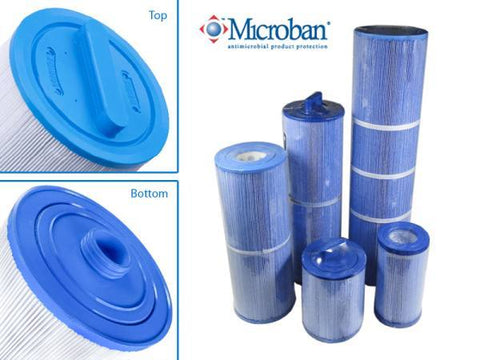 Swimming Pool & Spa Replacement Filter Cartridge 40 Sq Ft 14017 | 4CH940 | PDOUF40P2S | FC0177M - Yardandpool.com