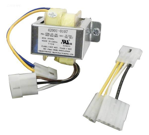 Transformer, 120/240V single adapter only; single voltage wire hetaers pre 2004 - Yardandpool.com