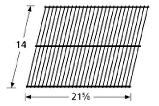 Music City Metals Galvanized Steel Wire Grill Rock Grate 95801
