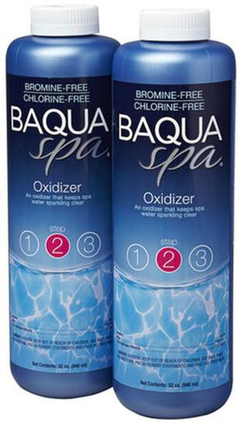 Baqua Spa Chemicals - Oxidizer 2 Pack 64 oz - Yardandpool.com