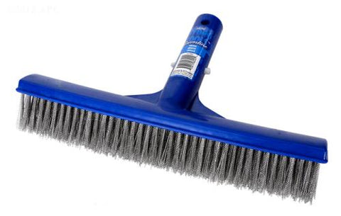 Deluxe Stainless Steel Concrete Pool Brush - 10""