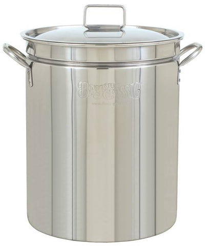 Bayou Classic 24 Quart Stainless Steel Stockpot w/ Vented Lid
