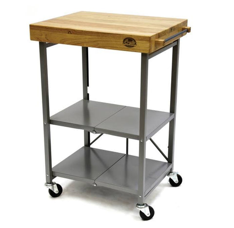 Bradley Smoker Folding Kitchen Cart