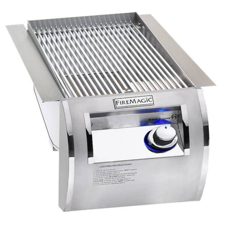 Fire Magic Echelon Built-In Searing Station w/ Stainless Steel Grid - Natural Gas - Yardandpool.com