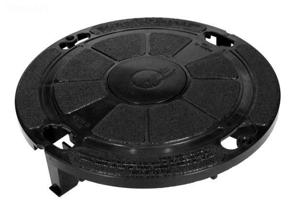 Lock down lid, black