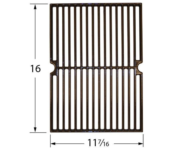 Music City Metals Gloss Cast Iron Grill Cooking Grid 63421
