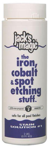 Jack's Magic Stain Solution #1 The Iron, Cobalt & Etching Stuff - 2 lb - Yardandpool.com