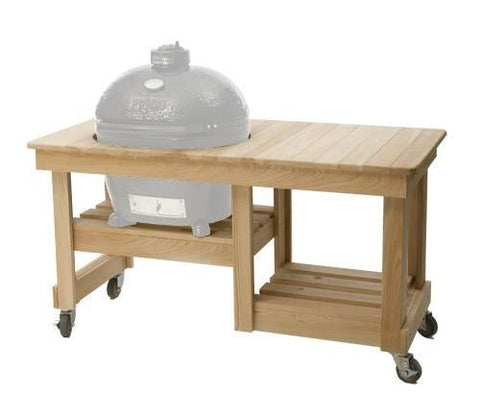 Primo Grills Cypress Counter Top Table for Oval 200 Junior Grill - Yardandpool.com