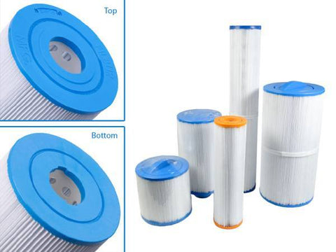 Swimming Pool & Spa Replacement Filter Cartridge 50 Sq Ft 15046 | C8350 | PVT50W | FC3053 - Yardandpool.com