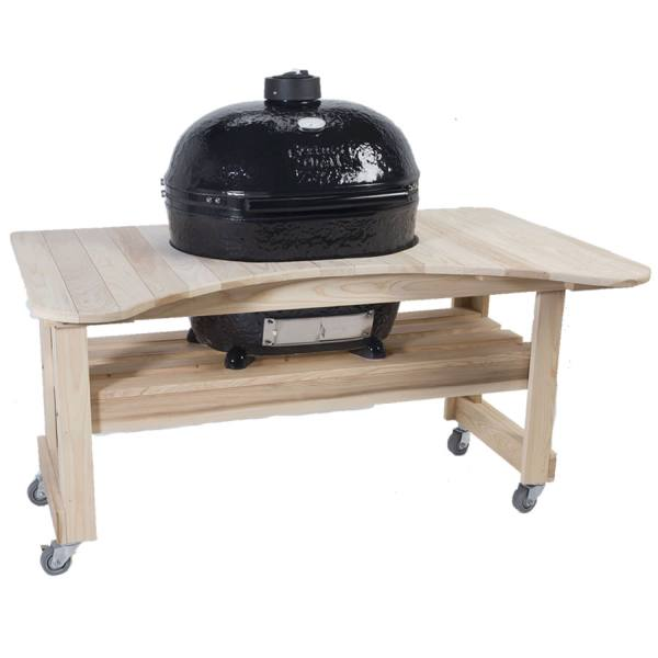 Primo Grills Cypress Table for Oval XL Grill