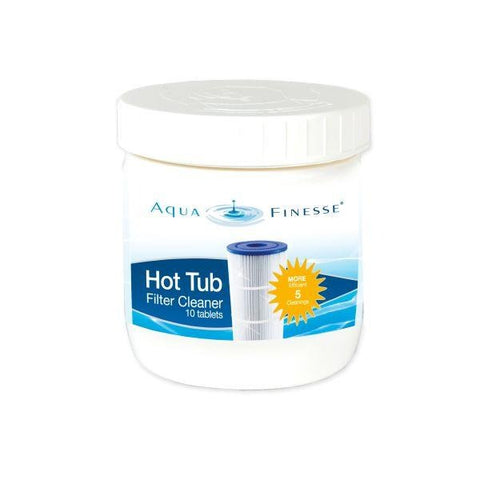 AquaFinesse Hot Tub and Spa Filter Cleaner - 10 Tablets