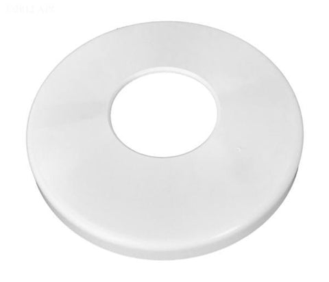 Escutcheon Plate White Abs 1.5""