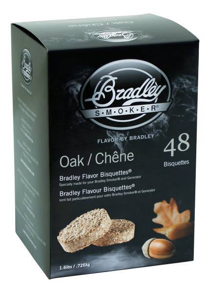 Bradley Smoker Bisquettes 48 Pack - Oak